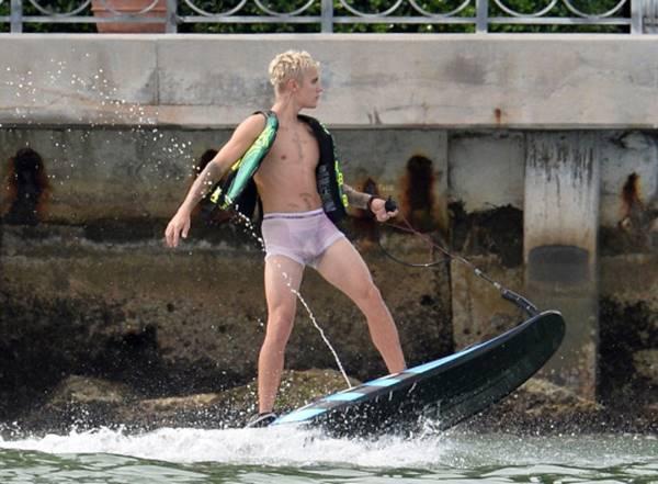 Justin bieber pelado