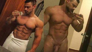 Fotos do Leo stronda pelado em nudes amador